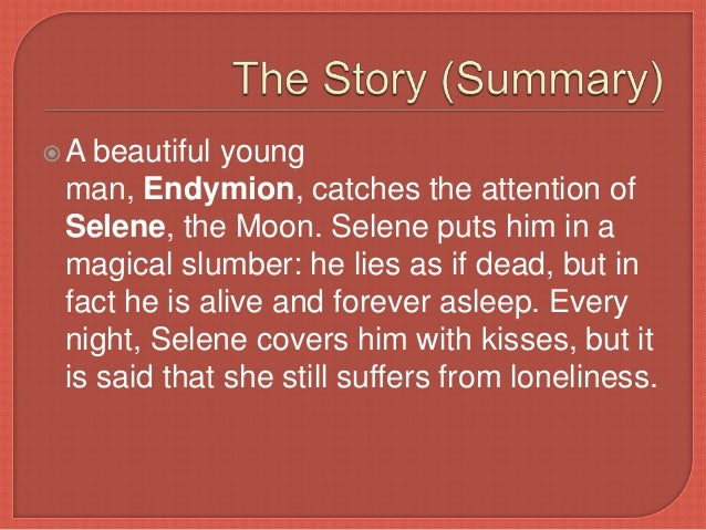 endymion poem summary