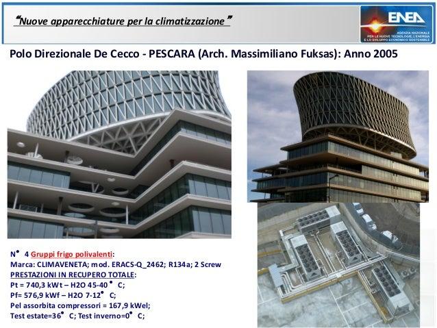 """""""Nuove apparecchiature per la climatizzazione""""Polo Direzionale De Cecco - PESCARA (Arch. Massimiliano Fuksas): Anno 2005N°..."""