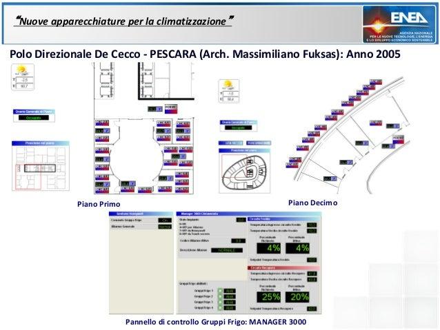"""""""Nuove apparecchiature per la climatizzazione""""Polo Direzionale De Cecco - PESCARA (Arch. Massimiliano Fuksas): Anno 2005  ..."""