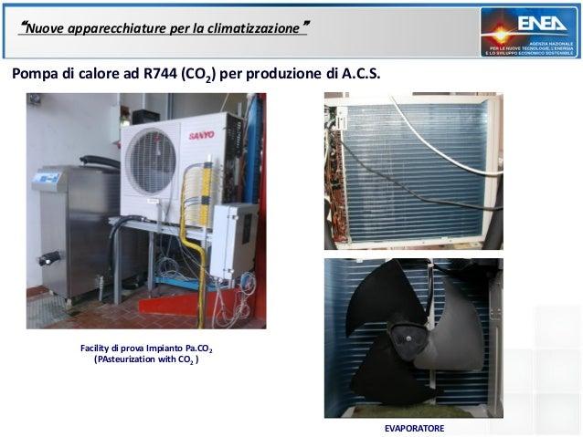 """""""Nuove apparecchiature per la climatizzazione""""Pompa di calore ad R744 (CO2) per produzione di A.C.S.          Facility di ..."""