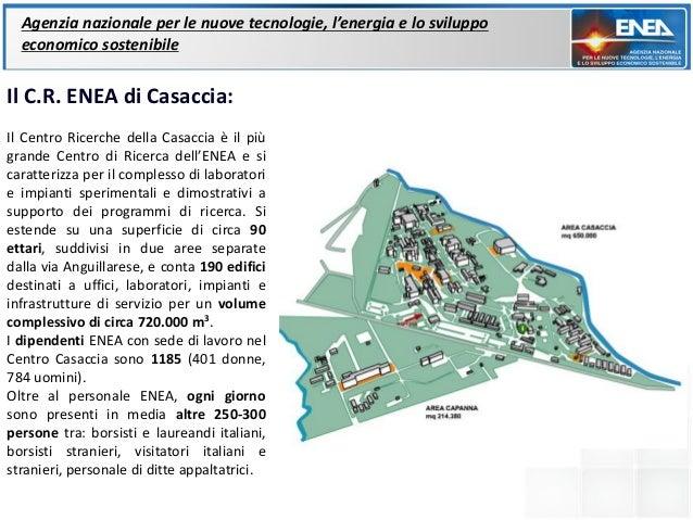 Agenzia nazionale per le nuove tecnologie, l'energia e lo sviluppo  economico sostenibileIl C.R. ENEA di Casaccia:Il Centr...