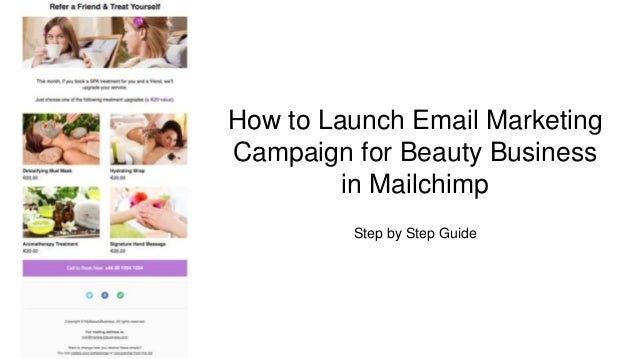 Email Marketing for Beauty Business. How to Launch Email ...