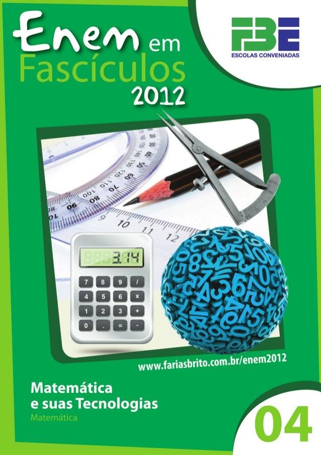 Enem em fascículos - 2012                                                                                          4      ...