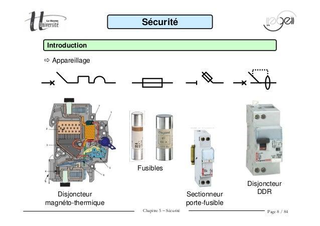 Ener1 cm5 s curit lectrique - Sectionneur porte fusible telemecanique ...