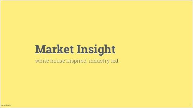 Market Insight white house inspired, industry led.  @EneractApp  7