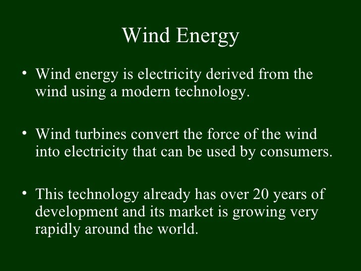 Wind Energy In Dominican Republic Proposal