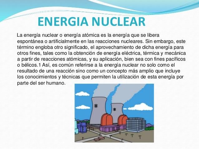 Energía Eléctrica Y Sus Tipos