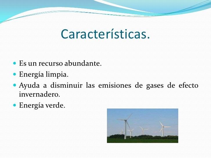 Resultado de imagen para Energía Renovable caracteristicas