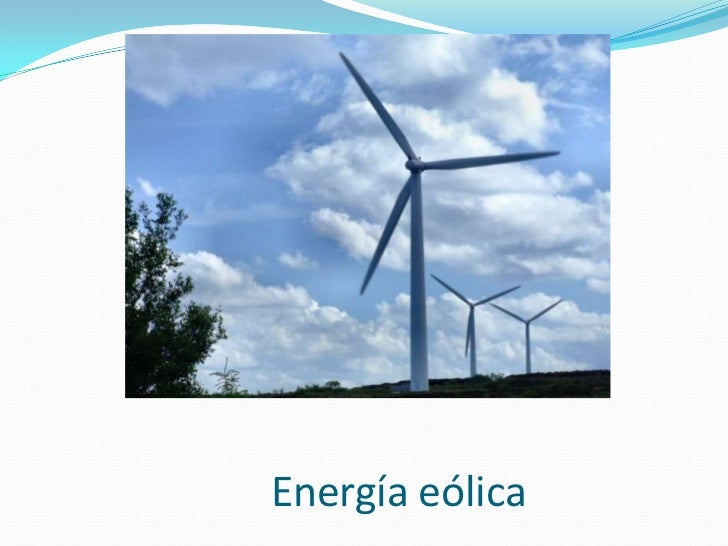 Energía eólica<br />