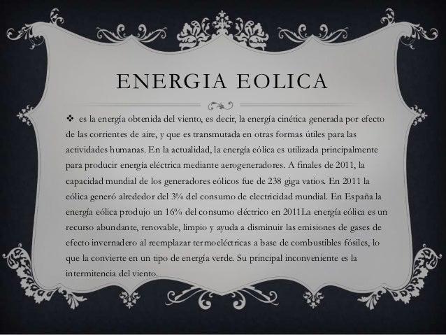 Energía eólica Slide 2