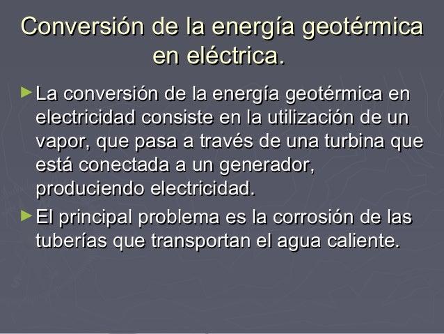 Energ a g nicolas medina - En que consiste la energia geotermica ...