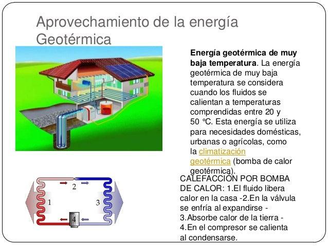 Energ a geot rmica - Temperatura ideal calefaccion casa ...