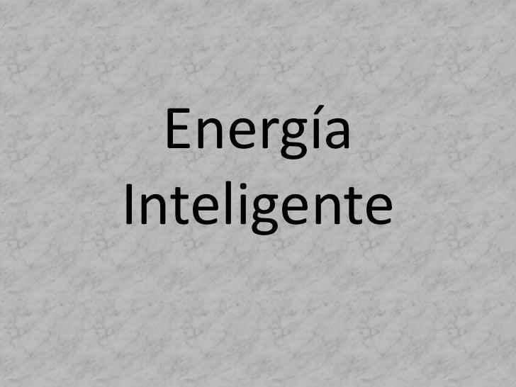 EnergíaInteligente