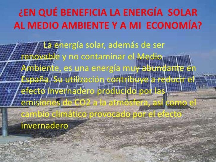 EnergíA Solar Slide 3