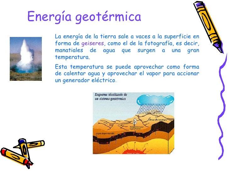 Energ as renovables - En que consiste la energia geotermica ...