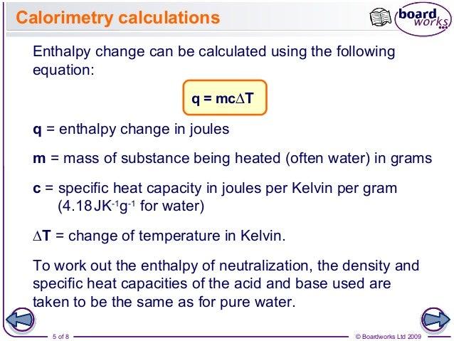 Calorimetry and Hess's Law Essay