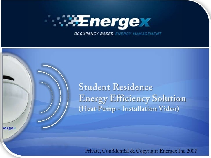 Student Residence<br />Energy Efficiency Solution<br />(Heat Pump - Installation Video)<br />Private, Confidential & Copyr...