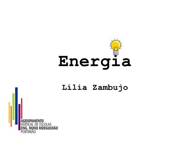 Energia Lília Zambujo