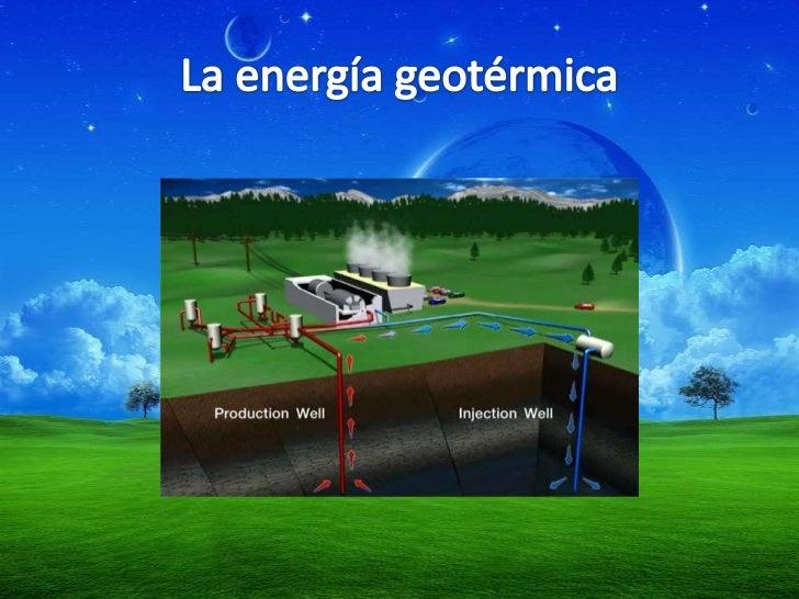 Energia renovables y no renovables - En que consiste la energia geotermica ...