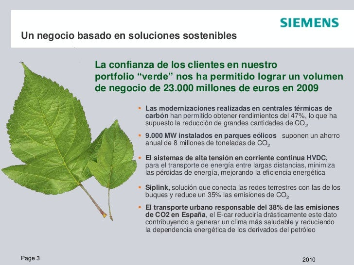 Siemens Energía Slide 3