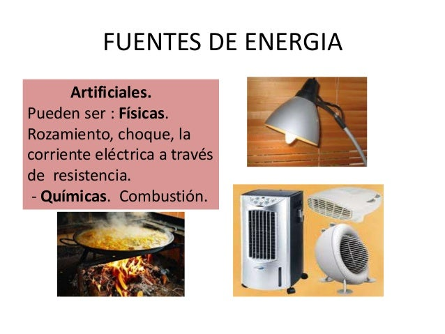 E n e r g i a for Fuentes artificiales