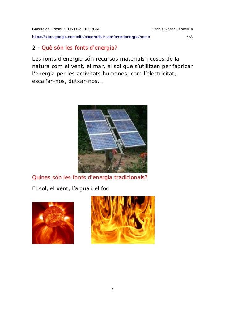 Fonts d'Energia - Grup 3 Slide 2