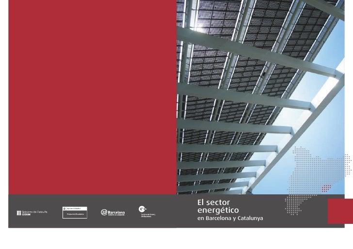 El sector energético en Barcelona y Catalunya