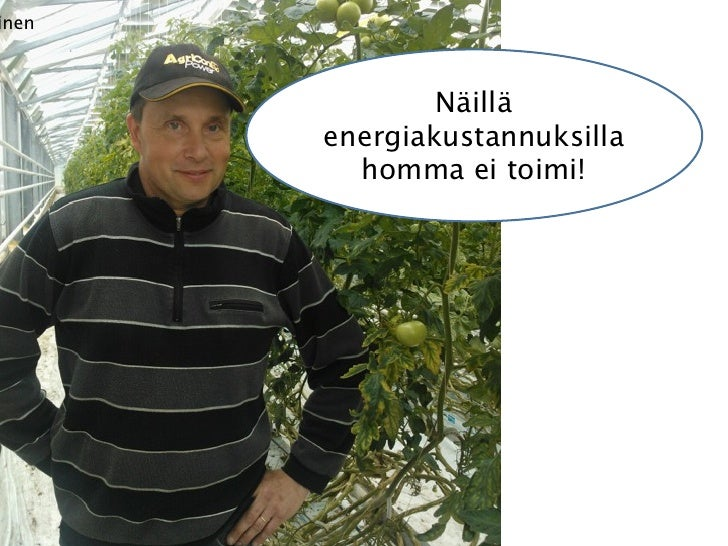 Peloton Kaustinen: Energiafiksu Kasvihuone Pitch