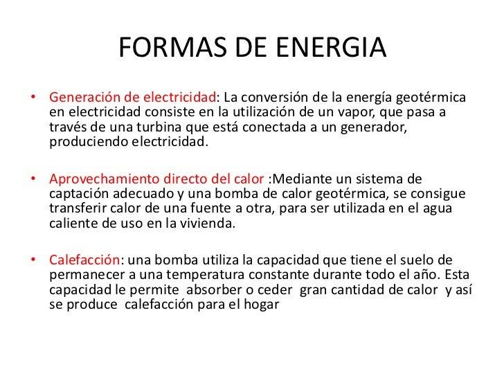 Energia geotermica - En que consiste la energia geotermica ...