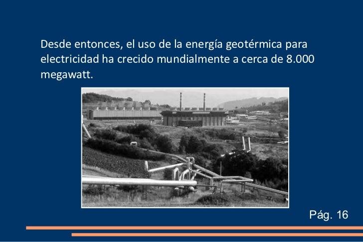 Energ a geot rmica cristina y rodri - En que consiste la energia geotermica ...