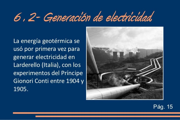Energ a geot rmica cris y rodri - En que consiste la energia geotermica ...