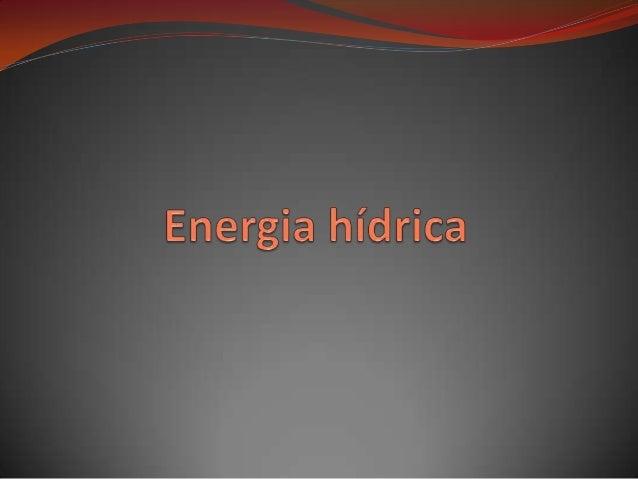 O que é e como se aproveita: A energia hidráulica ou energia hídrica é a energia obtida a partir da energia potencial de ...
