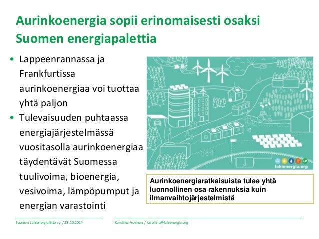 Aurinkosähkön tuotannon mahdollisuudet ja haasteet_Karoliina Auvinen_…