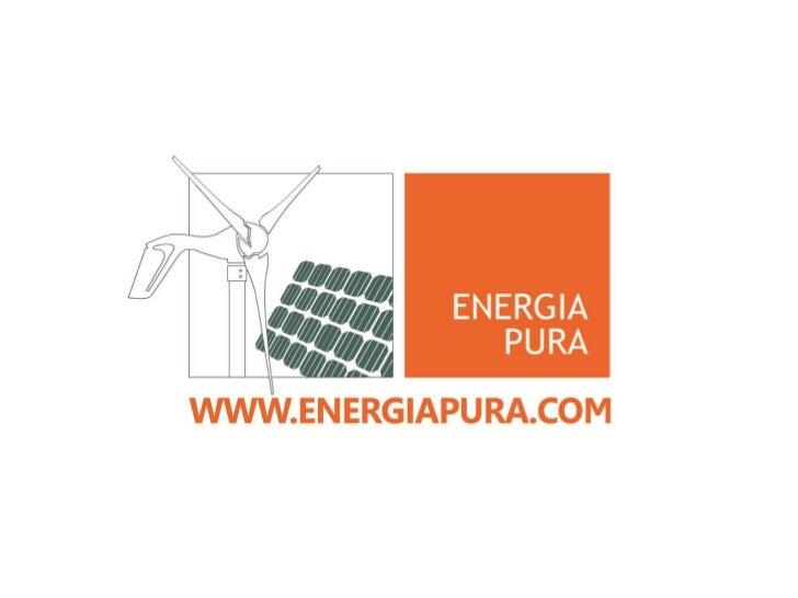 Desde 1993 a Energia Pura implementa osmelhores equipamentos do mundo paramicrogeração de Energia Renovável residencial ep...