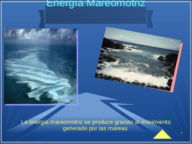 8 Energía Geométrica La energía geométrica es aquella energía que puede obtenerse mediante el aprovechamiento del calor de...