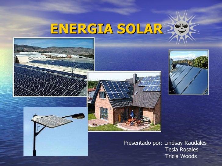 Investigación Energia solar
