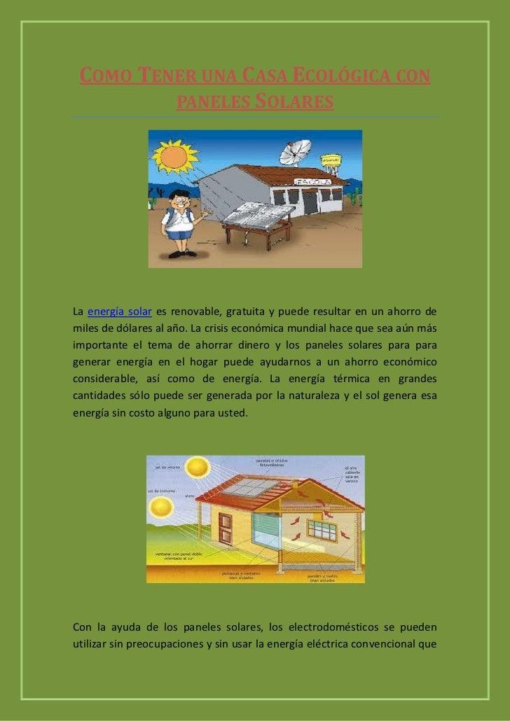 energia solar la mejor opcion para ahorrar en el gasto