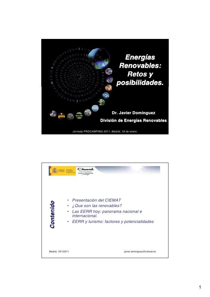 Presentación Javier Dominguez Jornada Procamping 2011