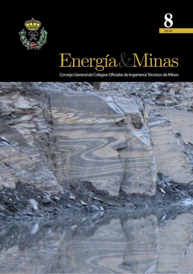 8 2010  Consejo General de Colegios Oficiales de Ingenieros Técnicos de Minas