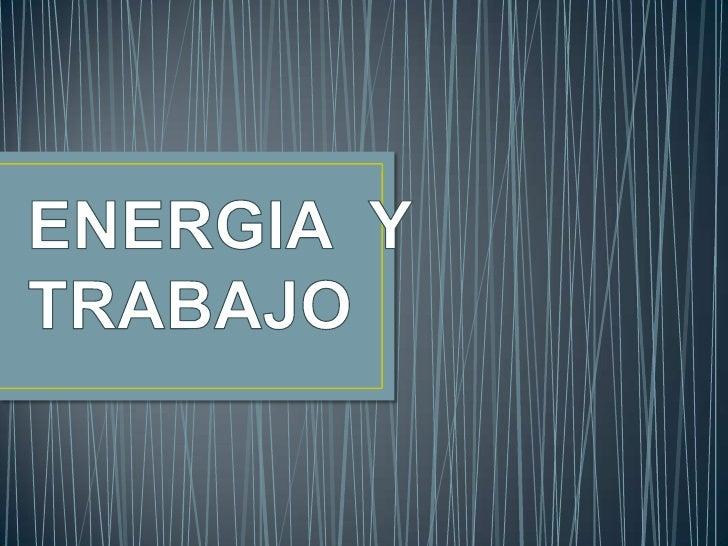 Para otros usos de este término,      véase Energía (desambiguación).   Un rayo es una forma de transmisión de            ...