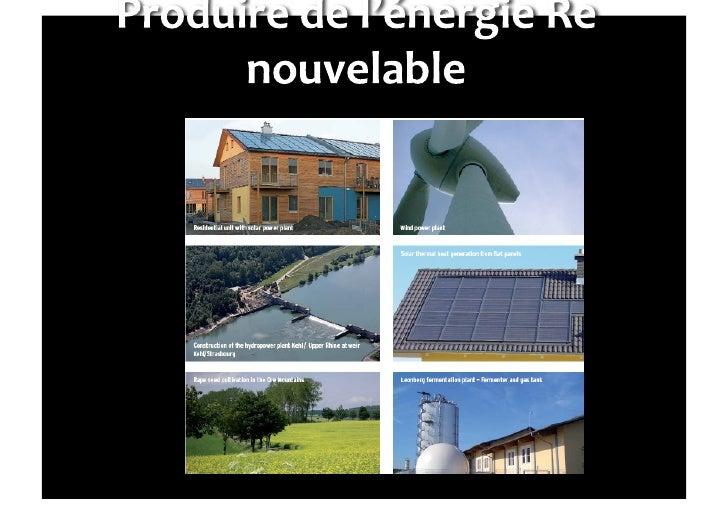 Energies emplois commune