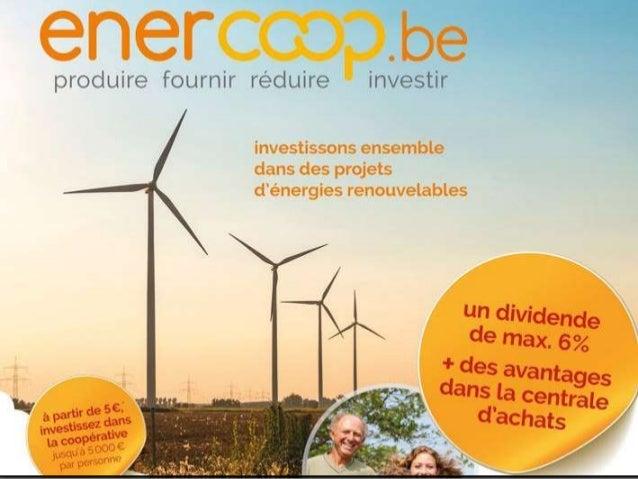 Pourrons-nous bientôt débrancher nos maisons et produire seuls notre électricité ? 2 février 2017, 18h30, Coworking Namur ...