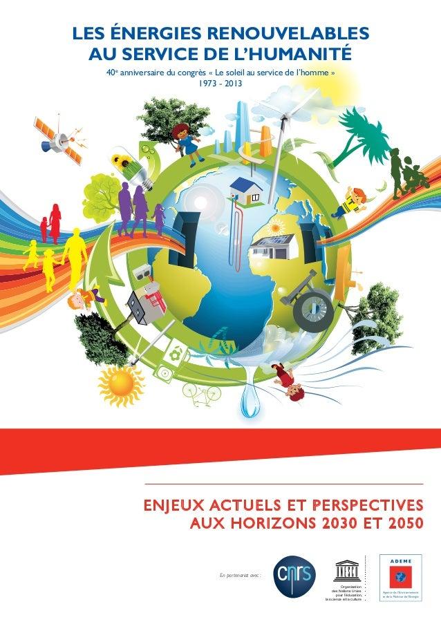 ENJEUX ACTUELS ET PERSPECTIVES AUX HORIZONS 2030 ET 2050 Organisation des Nations Unies pour l'éducation, la science et la...