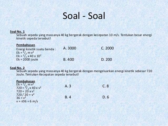 Energi Mekanik Tresno Abadi 13708259033