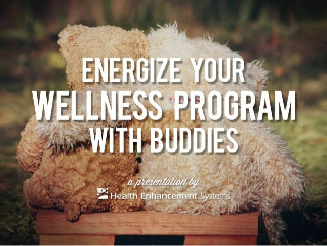 Energize Your Wellness Program with Buddies