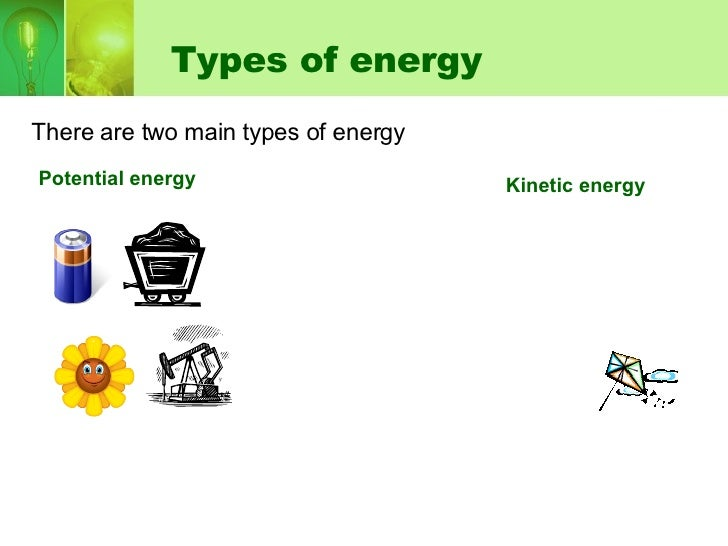 different forms of kinetic energy