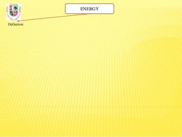 Energy Diagram Definition | Energy Diagram English