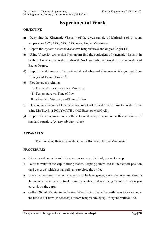 energy engineering lab manual zaman a 28