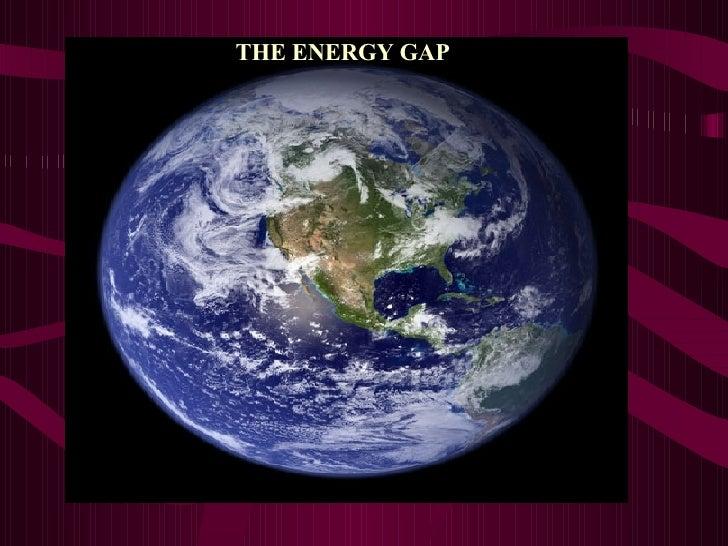 THE ENERGY GAP