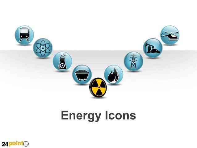 Energy Icons Non Renewable